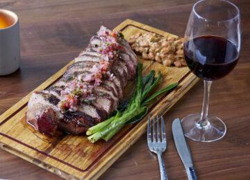 Tri Tip Steak for Two Santa Maria Style