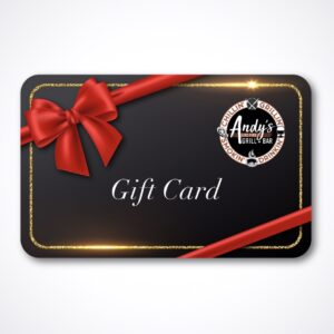 Andy's Gift Card